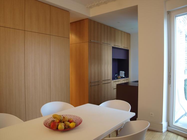 Frög architecture | 26RG / Réhabilitation d'un appartement | © V8 Designers