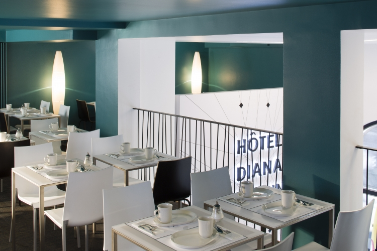 Frög architecture | 30RPA - Hôtel Diana Dauphine | © Christophe Bielsa