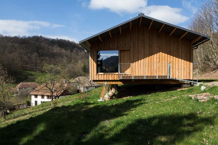 Frög architecture | 00MO / Maison de vacances | © Marie Prunier