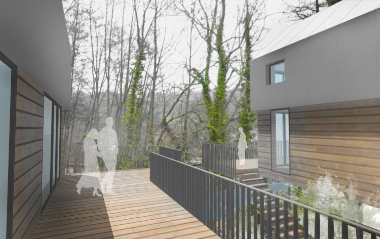 Frög architecture | 00TOW / 3 Maisons bi-familiale