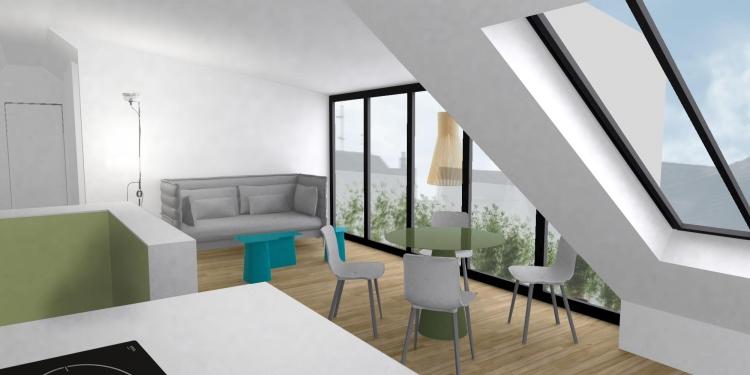 Frög architecture | 03RDF / Réhabilitation d'un appartement