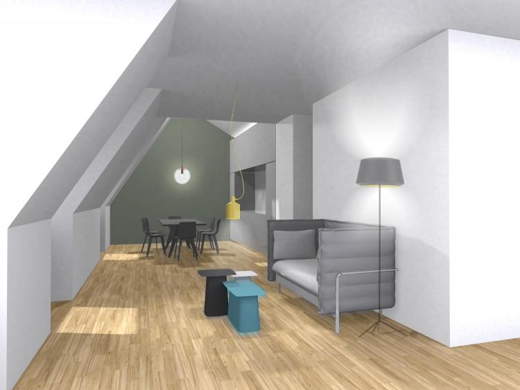 Frög architecture | 03RDF / Réhabilitation d'un appartement | © V8 Designers